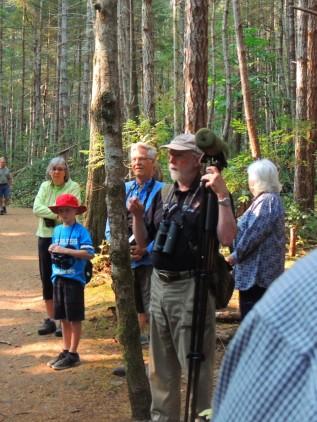 "Art Martell, ""Bird Walk – Hearing, seeing and enjoying our local birds"""