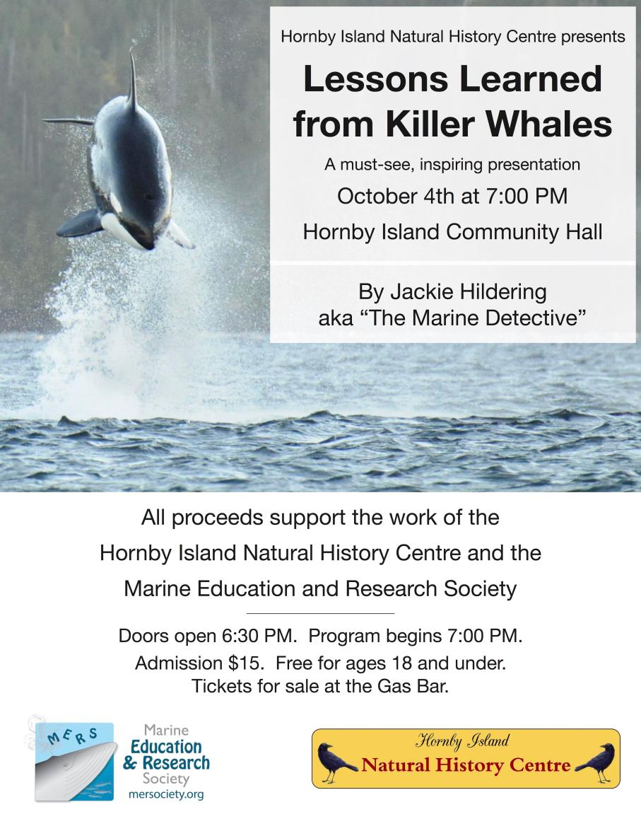 Killer Whale Talk with Jackie Hildering