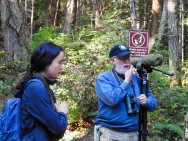 """A Walk in Helliwell Park to See, Hear, and Appreciate Birds"" with Art Martell."