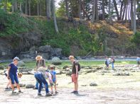 """A Journey Back in Time with the Fabulous Fossils of Hornby Island"" with Dan Bowen and Betty Franklin."