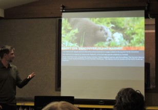 """Vancouver Island Marmot Recovery"" with Adam Taylor."