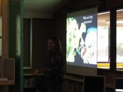 """Canada's Glass Sponge Reefs"" with Stephanie Archer."